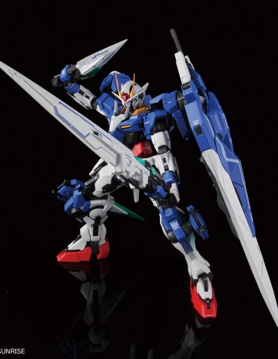 OO Gundam Seven Sword action