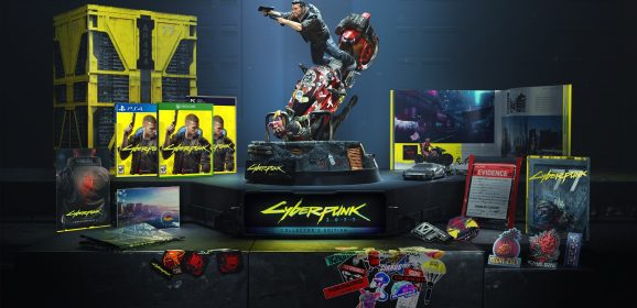 Cyberpunk 2077 Collector's Edition bevat berg coole loot