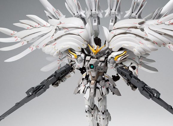 Gundam Wing Snow White Prelude pre-orders zijn gestart