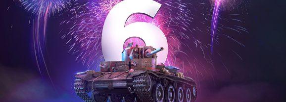 World of Tanks Mercenaries bestaat 6 jaar