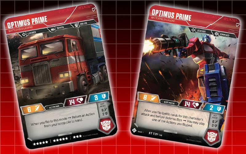Optimus Prime Battlefield Legion