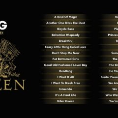 Let's Sing onthuld Queen tracklist